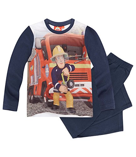 Feuerwehrmann Sam Jungen Pyjama Schlafanzug