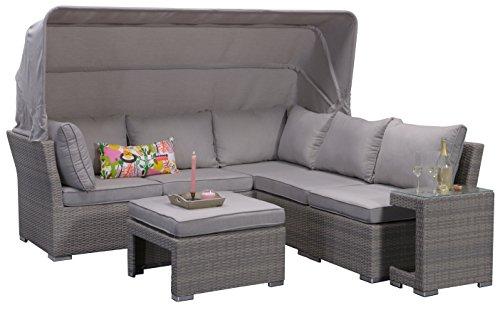 Lounge Set Kuba Grau
