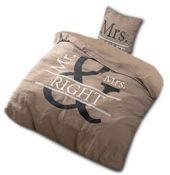 Bettwäsche Mr & Mrs