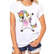 T-Shirt mit Einhorn