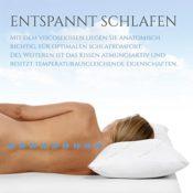 Nackenstützkissen mit Aloe Vera