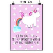 Poster Einhorn