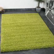 Teppich Grün Hochflor