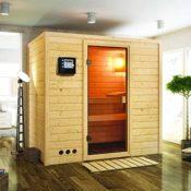 Sauna mit Fronteinstieg