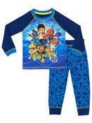 Paw Patrol Jungen Schlafanzug Langarm