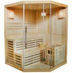 Traditionelle Finnische Sauna