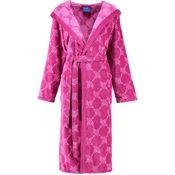 JOOP! Damen Kapuzen-Bademantel pink