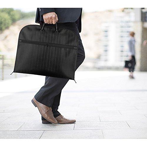 Kleidersack modern schwarz