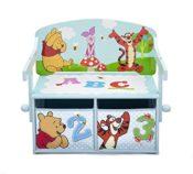 Pooh Sitzbank & Schreibtisch