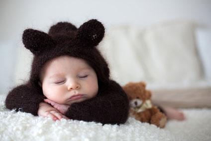 Kuschelige Babykleidung