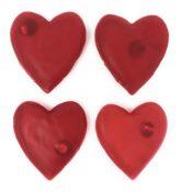 4er Set Handwärmer Herz