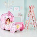 Mädchenbett Kutschendesign von Disney