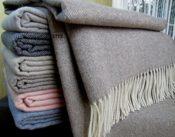 Kaschmir Wolldecke verschiedene Farben
