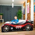 Rennwagen Kinderbett