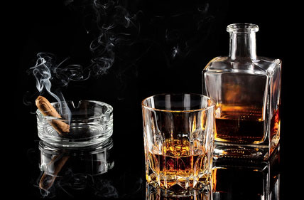 Bildheizung Whisky