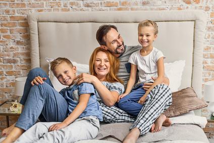 Kuschelige Schlafanzüge für die Familie